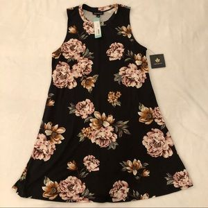 Fortune + Ivy Dresses - NWT Fortune + Ivy Stitchfix floral dress L